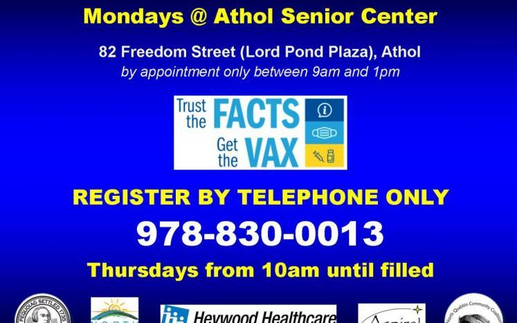 Athol Vax clinic